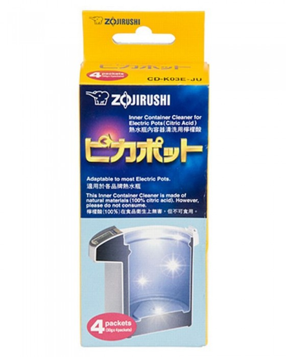 ZOJIRUSHI CD-K03EJU CITRIC ACID CLEANER 4PCS
