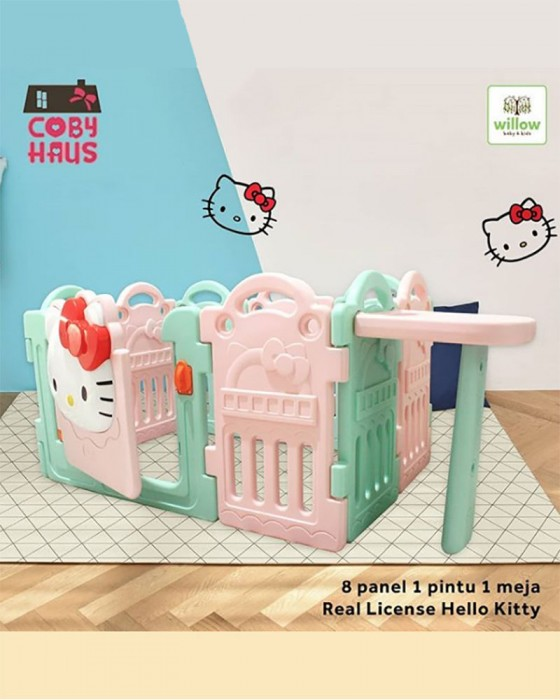 COBY FENCE HELLO KITTY LIMITED EDITION