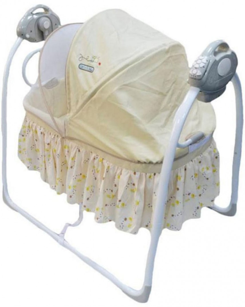 Babybed Aan Bed.Babyelle 82006 Babybed Auto Swing Bed Beige
