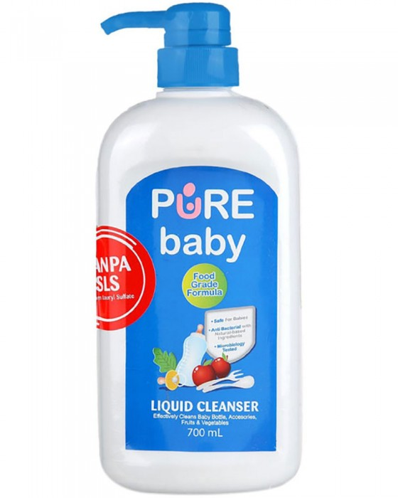 PURE BABY LIQUID CLEANSER 700ML PUMP
