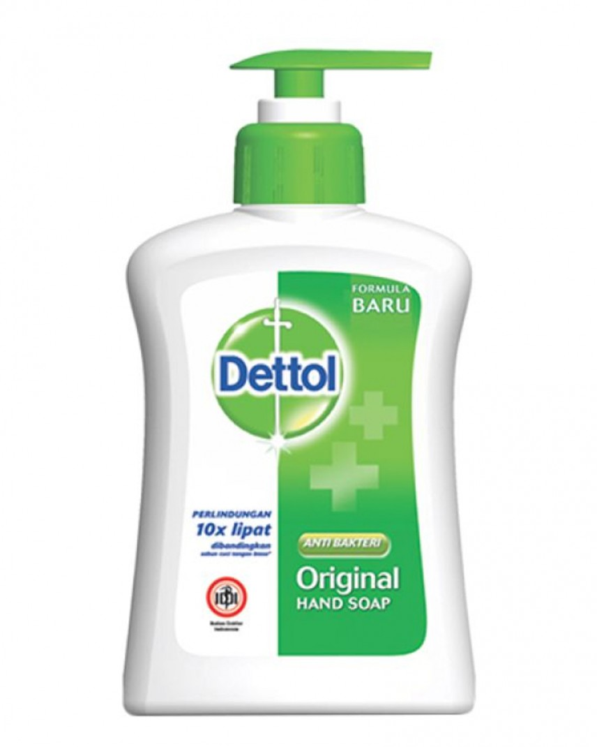 Jual Dettol Original Hand Soap 135ml Pump Sleek Baby Laundry Detergent 450ml