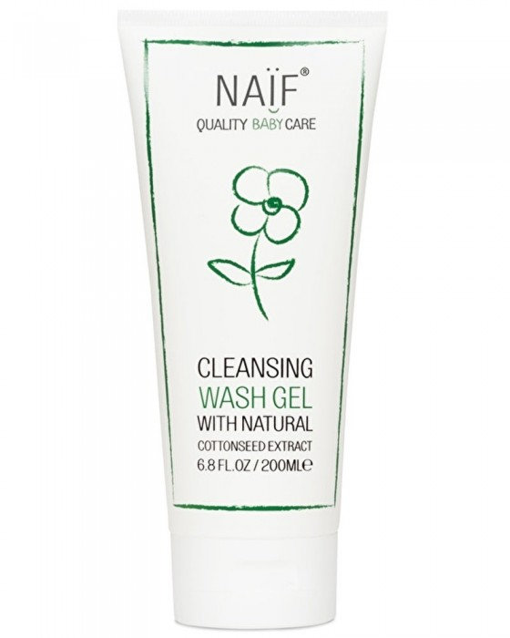 NAIF P003 BABY CLEANSING WASH GEL 200ML